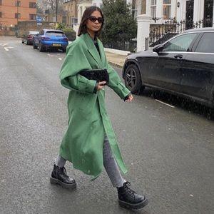 NWT Zara Voluminous Sleeve Coat